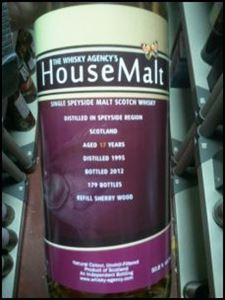 Picture of House Malt 17yo 1995 TWA