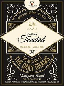 Picture of Trinidad 25yo 1991/2016 Rum DD