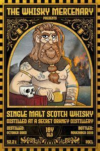 Picture of Secret Orkney 16yo 2003/2019 The Whisky Mercenary